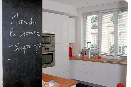 Une ardoise tr s d co 20 cuisines de d corateurs - Ardoise cuisine deco ...