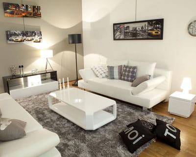 Style urbain des salons pour tous les styles journal - Style de salon moderne ...