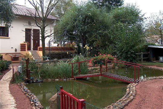 Un coin tr s reposant les plus beaux bassins journal des femmes - Deco bassin de jardin avignon ...