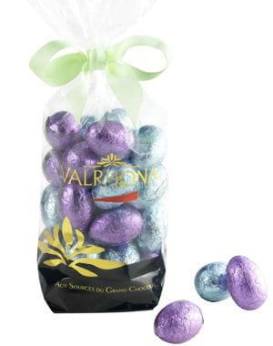 oeufs en chocolat de valrhona