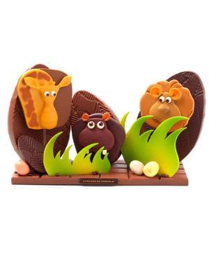 safari chocolat par la maison du chocolat