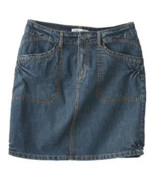 la jupe en jean de somewhere, 45 euros