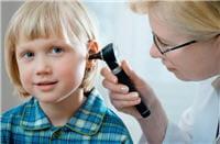 en cas d'otite moyenne, la plus courante, l'enfant ne présente pas de baisse
