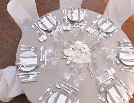 Th me marin un mariage c t atlantique 12 d corations for Theme marin decoration