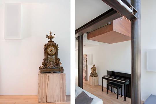 Jeu de cubes une maison moderne entour e de verdure - Jeu de decoration de maison de luxe ...