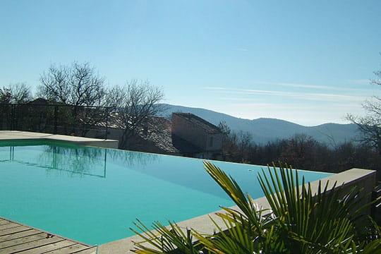 Panorama sur la montagne des maisons de r ve avec piscine journal des femmes - Piscine a debordement de reve brest ...