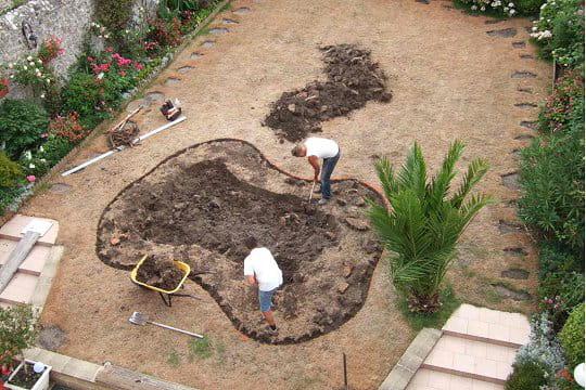Cr ation d 39 un bassin et d 39 un jardin zen ambiance zen for Le jardin normand
