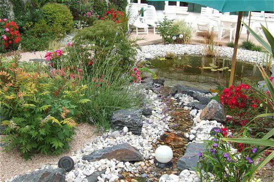 Bruits d 39 eau sur la c te normande ambiance zen dans le for Le jardin normand
