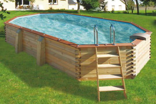une envie de grand large des piscines hors sol ultra sympas journal des femmes. Black Bedroom Furniture Sets. Home Design Ideas