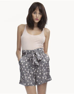 short à pois de nocollection