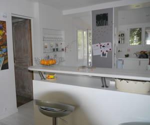 nous avons recouvert le poteau d 39 une peinture aimant e visitez la maison de laurence. Black Bedroom Furniture Sets. Home Design Ideas