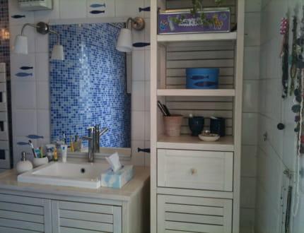 Petit air de bord de mer visitez la maison de laurence - Deco bord de mer salle de bain ...