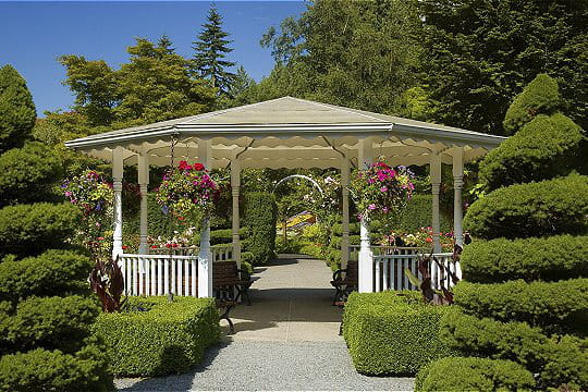 Une pergola pour une halte rafrachissante