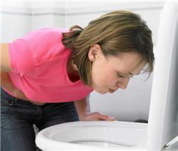 comment arreter vomir bile