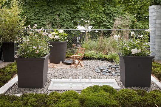 Des pots g ants des id es design pour le jardin aux - Deco jardin journal des femmes toulouse ...