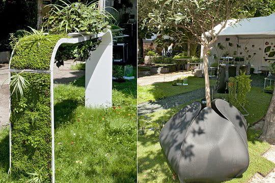 Une d co design des id es design pour le jardin aux tuileries journal des femmes - Deco jardin design ...