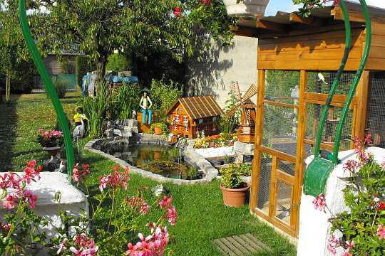 Beaux Jardins Petits Jardins Un Petit Jardin Et Un Mur Végétal Tout ...