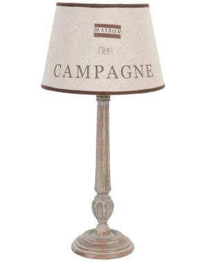 Esprit campagne chic pleins phares sur la lumi re journal des femmes - Lampes a poser maison du monde ...