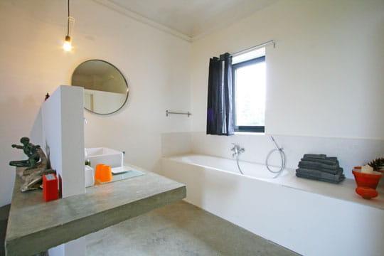 Salle de bains ouverte salle de bains 80 id es top for Salle bain ouverte chambre