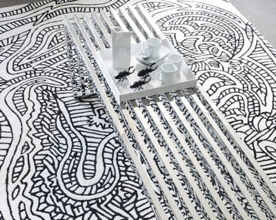 ethnique chic r chauffez votre int rieur avec un joli tapis journal des femmes. Black Bedroom Furniture Sets. Home Design Ideas