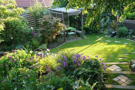 Le jardin des grandes vignes d 39 anne marie journal des femmes for Creer son jardin paysager
