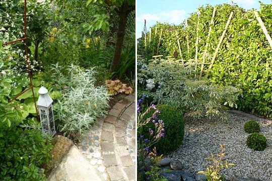 Un d cor digne d 39 un jardin zen le jardin des grandes for Anne marie witmeur decoration