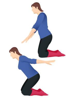 mouvement des bras 10 exercices faciles pour se muscler le dos journal des femmes. Black Bedroom Furniture Sets. Home Design Ideas