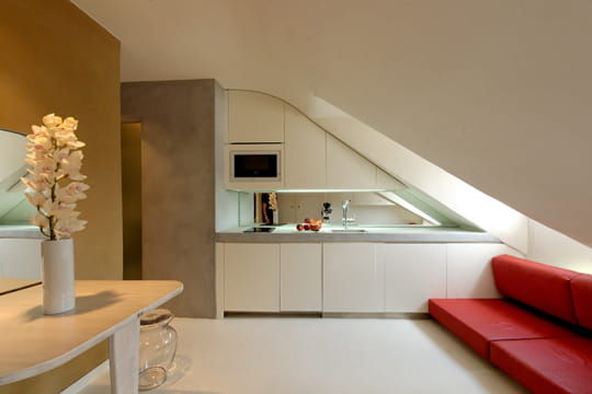 cuisine design et minimaliste des cuisines comme on en. Black Bedroom Furniture Sets. Home Design Ideas