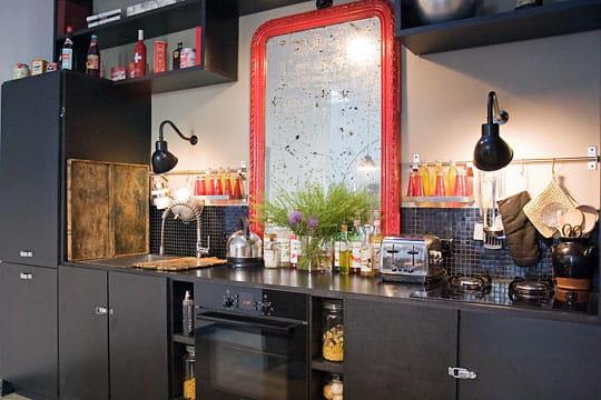 Cuisine black vintage des cuisines comme on en r ve journal des femmes - Deco vintage cuisine ...