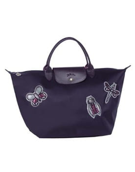 le sac pliage badges de longchamp