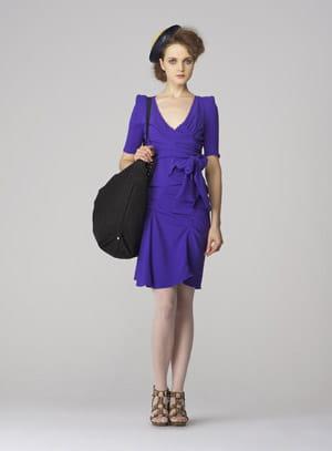 la robe violette de sonia rykiel