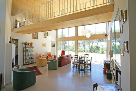 Un salon ouvert sur la nature toujours plus d 39 id es pour for Salon ouvert