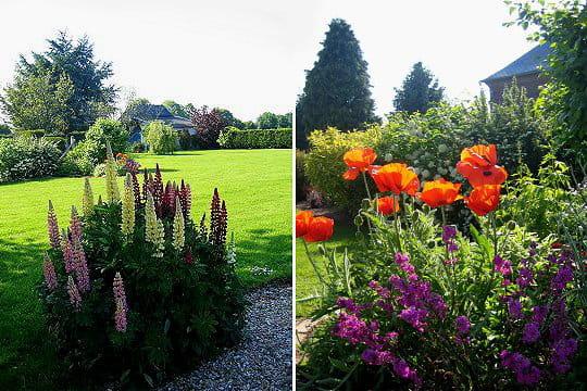 Un jardin normand tr s fleuri election du plus beau for Beaux arbres de jardin