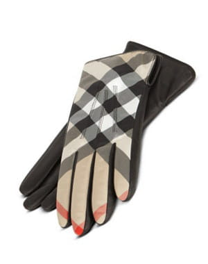 les gants de burberry