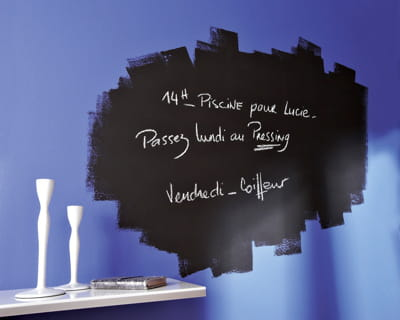 Focus sur la peinture ardoise - Peinture ardoise magnetique leroy merlin ...