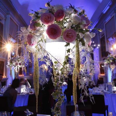 Jeux de lumi res pour un mariage d hiver le centre de table d coration de mariage 15 id es - Centre de table mariage hiver ...