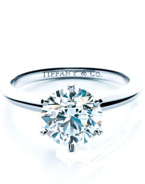 bague 'setting' de tiffany & co