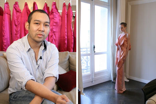 Les coulisses de la collection couture de Didit Hediprasetyo
