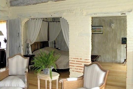 Une chambre avec alc ve esprit rustique et r cup 39 pour for Chambre avec alcove