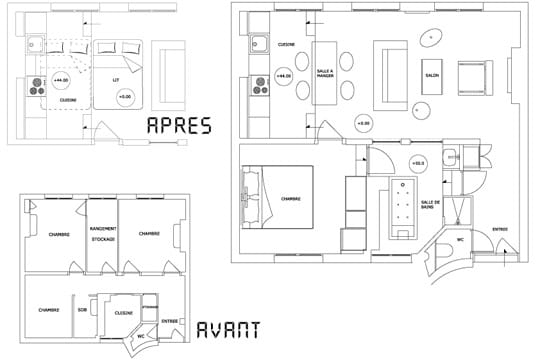 Plans appartement