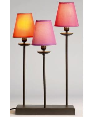 Lampe de table trois branches de jolis clairages pour le printemps jou - Lampadaire trois branches ...
