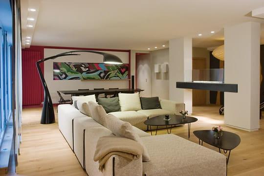 esprit nature dans un appartement parisien. Black Bedroom Furniture Sets. Home Design Ideas