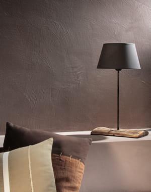 peinture effet sabl couleur taupe de la chaux pour leroy merlin et si on rafra chissait ses. Black Bedroom Furniture Sets. Home Design Ideas