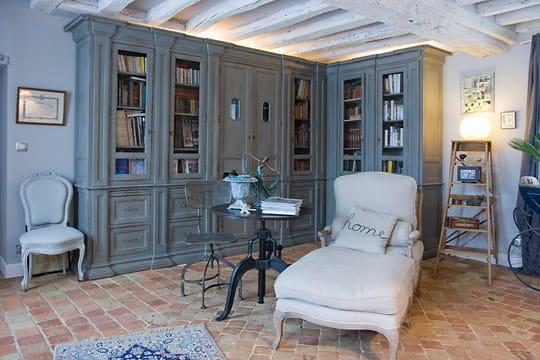 Id e biblioth que campagne - Decoration maison campagne chic ...