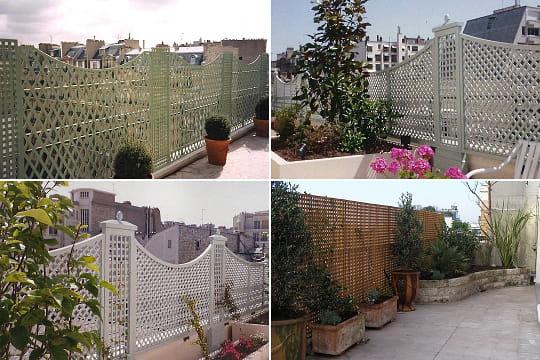 Quatre treillages pour d corer les balcons le treillage - Deco jardin journal des femmes toulouse ...