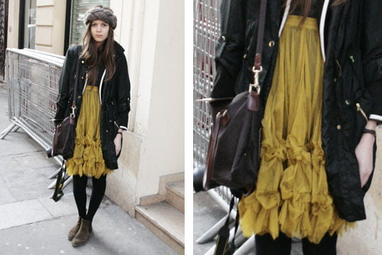 Fashion week : les street looks des dfils parisiens PAP automne-hiver 2011-2012 24