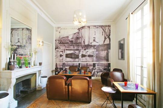 Mur d 39 anciennes cartes postales d co l gante petit prix dans le sud - Decoration petit prix ...