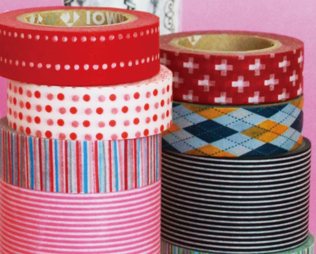 couleurs motifs et utilisations vari s le masking tape. Black Bedroom Furniture Sets. Home Design Ideas