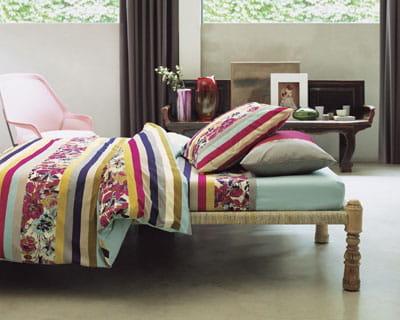 gourmandise chambre nouveaux draps pour un look printanier journal des femmes. Black Bedroom Furniture Sets. Home Design Ideas