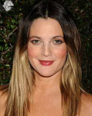 le balayage tie and dye de drew barrymore